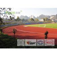 Buy cheap Track And Field Surface For School Running Track With Environmental Materials from wholesalers