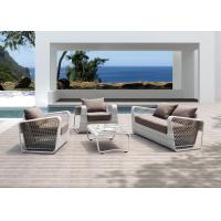Buy cheap European Style Outdoor Rattan Furniture, White Fashion Sofa Set from wholesalers
