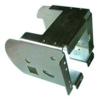 Buy cheap Deep Drawn Stamping Metal Parts , Custom Zinc Plated And Galvanized Of Metal Stamping Parts from Wholesalers