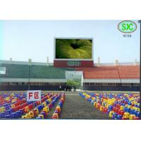 Buy cheap Full Color Led Sport Court RGB LED Billboard With Slim Cabinet Customized from Wholesalers