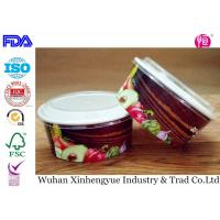 Buy cheap Biodegradable Disposable Paper Food Containers With Clear Lids , No Smell from wholesalers