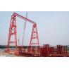 Buy cheap QME120t - 78m - 65m Truss Girder Outdoor Long Span Gantry Crane from Wholesalers