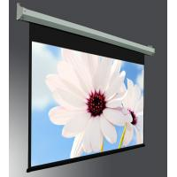 """Buy cheap 400 """" large Projection Screen , Electric Projection Screens with Tubular Motor Metal Housing from Wholesalers"""