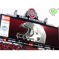 Buy cheap P10 Stadium LED Display Full Color , LED Video Screen High Brightness from Wholesalers