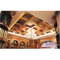 Buy cheap Tin Texture 3D Ceiling Tile European Style Wallpaper Light Weight and Eco friendly 600*600 mm from Wholesalers