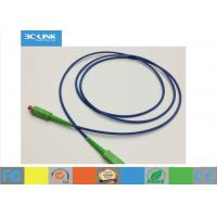 Buy cheap FTTH Armoured Fiber Optic Patch Cord Fiber Optic Cable For Networking from Wholesalers