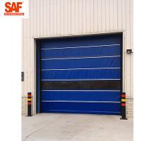 Quality Fast shutter door with Protection PVC Roll Up for clean area factory automation for sale