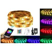 Buy cheap 150 LEDS 5M RGB Bluetooth LED Strip 12V DC WiFi Phone APP Remote Controller+ 3A Power Adapte from Wholesalers