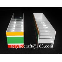 Buy cheap 2015 Hot Selling Cigarrete Holder, Table Top Acrylic Cigarrete Display Stand from Wholesalers