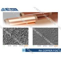 Buy cheap Flexible Printed Circuits/Flexible Copper Clad Laminate treated RA Copper Foil from Wholesalers