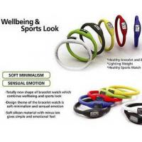Quality Ion Sport Watch Bracelets with Different Colors and Size wholesale