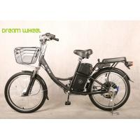 Quality 24 Inch nice Pedal Assist Electric Bike , lady and child style with two seats wholesale