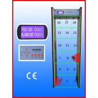 Quality Walk-through Metal Detector,Door frame metal detector, JLS-8008(8 Zones&LCD display) wholesale