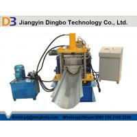 Buy cheap Customized Industrial Gutter Roll Forming Machine with 3kw Hydraulic Cutting from wholesalers