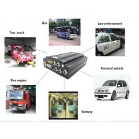 HD CCTV Vehicle Camera 4 Channel Mobile DVR Car Tracking On board