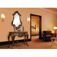Buy cheap Villa Bedroom Furniture Antique Indian Resin Console Table With Wall Mirror from Wholesalers