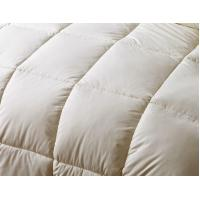 Buy cheap Customized Grid Embossing Down Feather Quilt With Double Stitched Piping Edges from Wholesalers