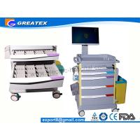 Buy cheap Luxurious Wireless Nursing Trolley Hospital Medical Cart , hospital computer cart (GT-QNT3701) from wholesalers
