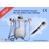Buy cheap 40KHZ Cavitation Vacuum Facial Handle Cryolipolysis Machine Anti wrinkle from Wholesalers