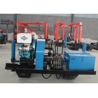 China Hydraulic Feeding Track Mounted Drill Rig , XY-2 Mobile Water Well Drilling Rigs on sale