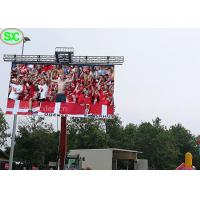 Buy cheap P6 Outdoor Hanging Slim Flexible Soccer LED display with Waterproof from wholesalers