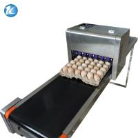 Buy cheap Touch Screen Egg Spraying Machine , Egg Printer Machine 6 Nozzles from Wholesalers