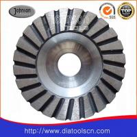Buy cheap Light Weight 100-180mm Turbo Diamond Grinding Wheels With Aluminium Core from wholesalers