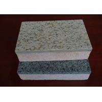 Buy cheap Heat Insulation Cement Board Partition Exterior Wall Cladding / Flooring Waterproof and Fireproof from Wholesalers