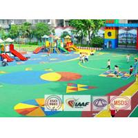 Buy cheap Environmental Seamless EPDM Rubber Flooring Material For Amusement Park from Wholesalers