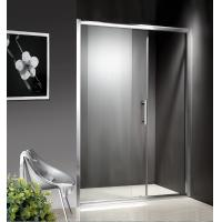 Buy cheap 1200-1800X1950mm Replacement Sliding Glass Shower Doors , Shower Cubicle Doors With Double Wheels from Wholesalers