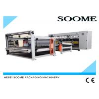 Buy cheap 160 PCS / Min Computerized Slitter Scorer Maccardboard Slitting Machine With Stacker And Paper Collection from Wholesalers