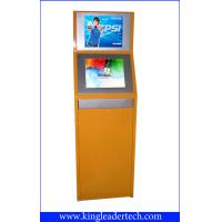 Buy cheap Double Display Self-Service TouchScreen Kiosk , Vandal-Proof For Theater TSK9001-2D from Wholesalers