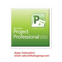 Buy cheap Stable FPP Microsoft Office Product Key Codes , Project 2010 Professional Key from Wholesalers