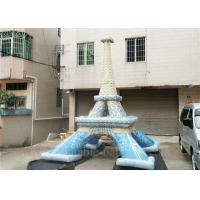 Buy cheap Commercial Mini Inflatable Eiffel Tower Customized Lead Free Inflatable Replica from Wholesalers