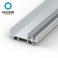 Buy cheap Two panel aluminum mullion weight of aluminum section 6063 t5 aluminum extruded profiles from Wholesalers