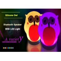 China Wireless Bluetooth Speakers new product electronic new release products audio led silicone night light for kids WQ-SL006 on sale