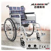 Customized Color Lightweight Manual Wheelchair Easy Cleaning 1 Year Warranty