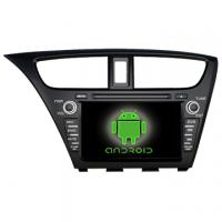 Buy cheap Wholesale Special Car DVD Player for Honda 2014 new Civic With DVB-T With TMC with GPS from Wholesalers