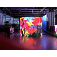 Buy cheap P4 RGB LED Display Pixel Density 62500 , SMD flexible led screen 3G WIFI from Wholesalers