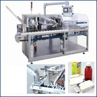 Buy cheap Multifunctional Automatic Cartoning Machine / Carton Box Packing Machine , PLC Control from Wholesalers