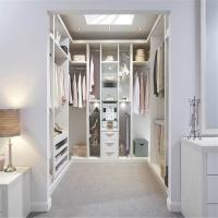Buy cheap Foldable Walk In Closet Wardrobe MDF Material Double Color Bedroom Furniture from Wholesalers