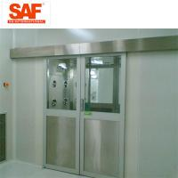 Quality Automatic Sliding Door Cleanroom Air Shower System Tunnel With Custom Width for sale