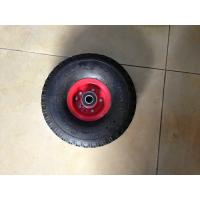 Buy cheap Flexible Hand Trolley Wheels , Wheelbarrow Rubber Wheel 4.00-4 from Wholesalers