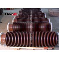 Quality 132KV Oil Type Transformers Hollow Core Insulator Without Flange 4700mm Creepage Distance wholesale
