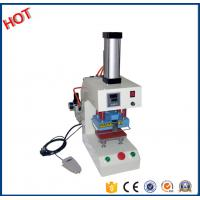Buy cheap New type Cheap used digital pneumatic logo marking printing heat press machine for all fabric factory16D from Wholesalers