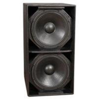 Buy cheap S218+ 102dB SPL 2ohms Disco Sound Equipment Subwoofer Cabinet Box  from Wholesalers