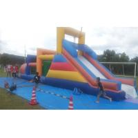 Buy cheap Huge commercial Inflatable obstacle course bounce house For Outside Entertainment from Wholesalers