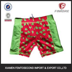 summer boardshorts beach shorts baby's peach hearts printed shorts Swimwear shorts