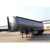 Buy cheap Manufacturer , ISO Tri-axle gasoline crude oil fuel tank semi trailer from Wholesalers