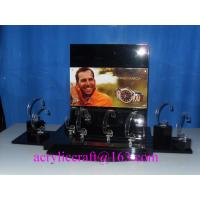 Buy cheap Counter top acrylic watch display rack, PMMA watch holder, plexiglass watch display stand from Wholesalers